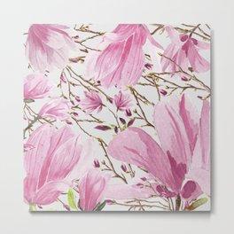 Big Magnolias Metal Print