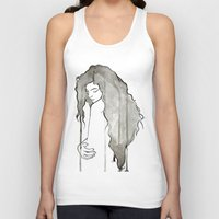 royal Tank Tops featuring Royal by Adrienne Reisman