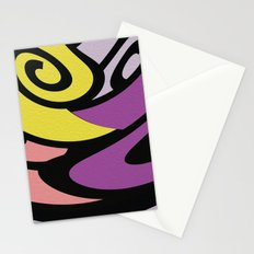 Back in Shape 4 Stationery Cards