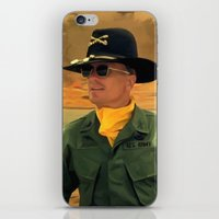 apocalypse now iPhone & iPod Skins featuring Robert Duvall @ Apocalypse Now by Gabriel T Toro