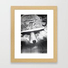 War is Hell Framed Art Print