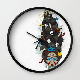 The Voodoo Queen Wall Clock