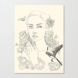Chrysanthemum (The Duel) Canvas Print