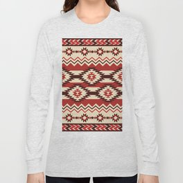 American Native Pattern No. 166 Long Sleeve T-shirt