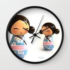 Kokeshi 03 Wall Clock