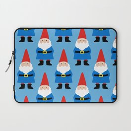 Gnome Repeat in Blue Laptop Sleeve