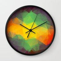 jamaica Wall Clocks featuring Jamaica by Oleg Zodchiy