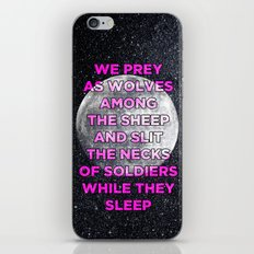 We Prey As Wolves iPhone & iPod Skin