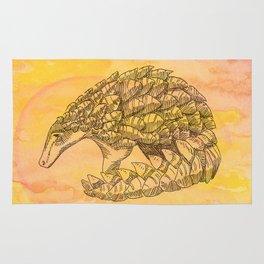 Pangolin Sun Rug