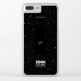 2001 - A space odyssey Clear iPhone Case