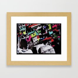 Moleque Framed Art Print
