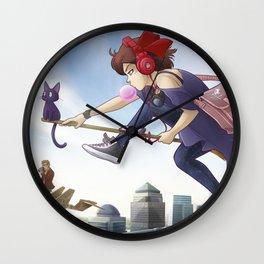 Kiki's Logistics Wall Clock