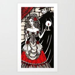 Christine Daae Art Print