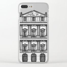 Windows and Columns Clear iPhone Case