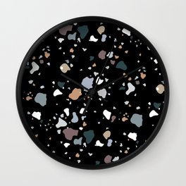 Black Liquorice Wall Clock