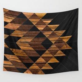 Urban Tribal Pattern 11 - Aztec - Wood Wall Tapestry