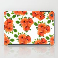 poppies iPad Cases featuring Poppies by Heaven7
