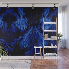 Blue Midnight Wall Mural