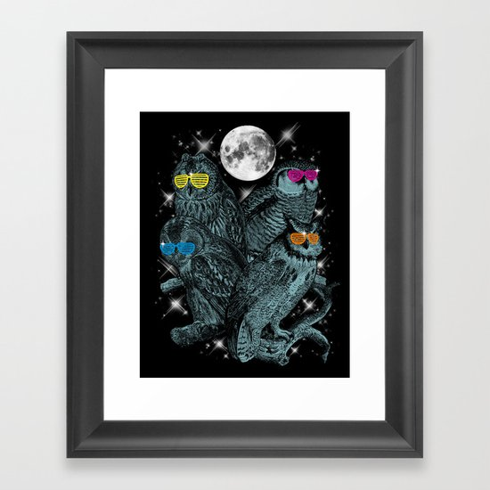 Stars of the Night Framed Art Print