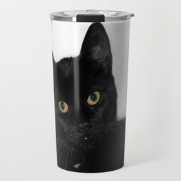 Black Cat  Travel Mug