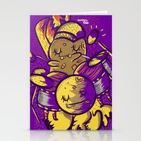 drum Stationery Cards featuring Drum by andreaga