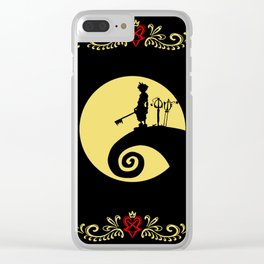 kingdom hearts Clear iPhone Case