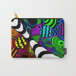 Zentangle (Recolor) Carry-All Pouch