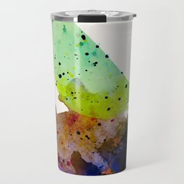 Bird standing on a tree Travel Mug