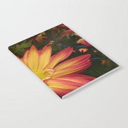 Fiery Flower Notebook