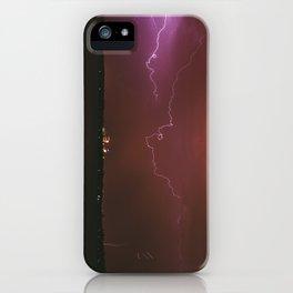 Storm Over Minneapolis iPhone Case