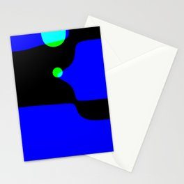 straight, no chaser (iteration 1) Stationery Cards