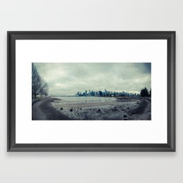 Vancouver Panorama 3 Framed Art Print