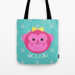 Dressy Monkey Tote Bag