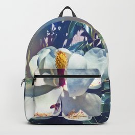 Magnolia Blossom and Bee Backpack