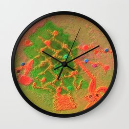 Sentimental Christmas Wall Clock