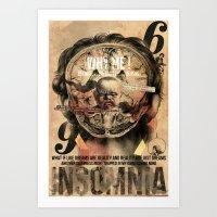 İnsomnia Art Print