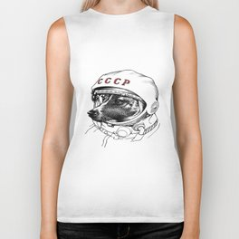 Laika Space Traveler Biker Tank