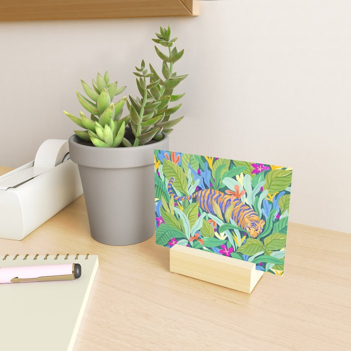 Colorful Jungle Mini Art Print
