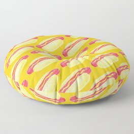 Hot Dogs! Floor Pillow