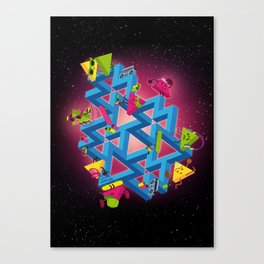The impossible playground Canvas Print