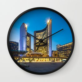 TORONTO 02 Wall Clock