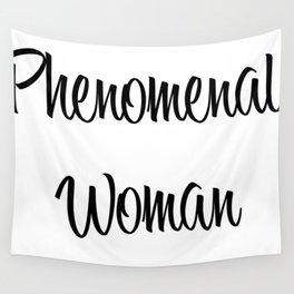 Phenomenal Woman Wall Tapestry