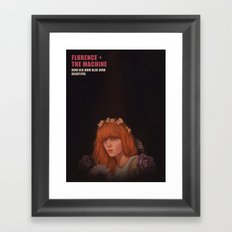 Florence+The Machine Framed Art Print