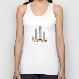 New York City, NYC Skyline Unisex Tank Top