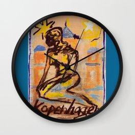 European Capital - Kopenhagen Wall Clock