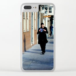 The Shadows Know  Clear iPhone Case