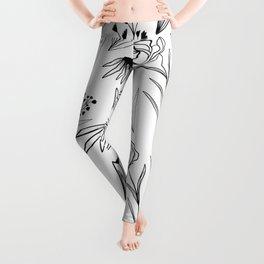 Botanical Pattern Leggings