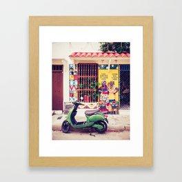 Caribbean Colors Fine Art Print Framed Art Print