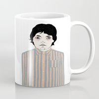 stripes Mugs featuring Stripes by Le Butthead