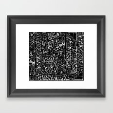 Hardware Framed Art Print